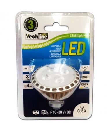 ATTACCO GU5.3 - LAMPADINA DI RICAMBIO LED