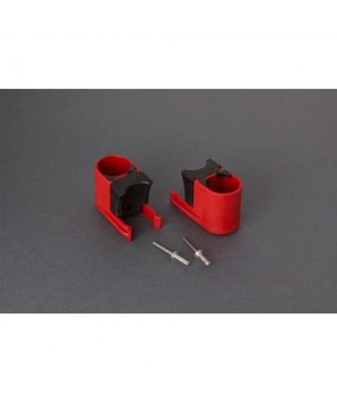 BULL SHOCK ABSORBER RED 2PCS